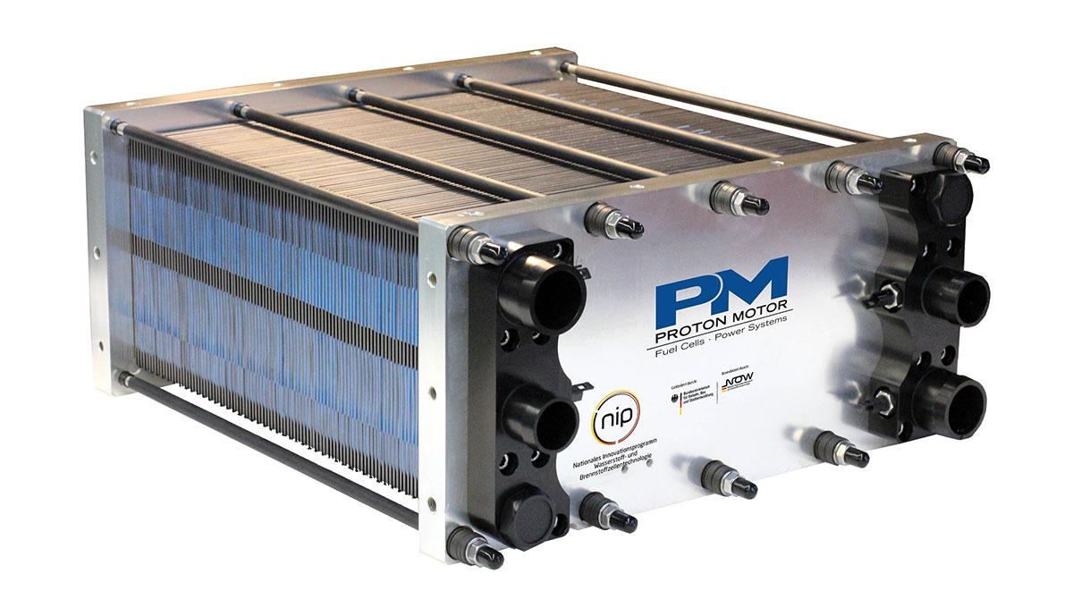Brennstoffzellen-Stack-Proton