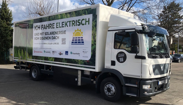 Lkw-Lade-PV