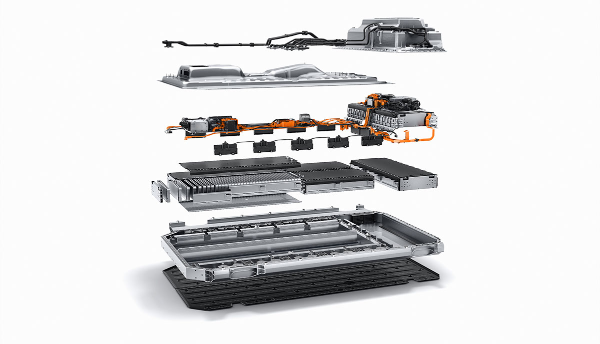 Mercedes-EQC-Batterie