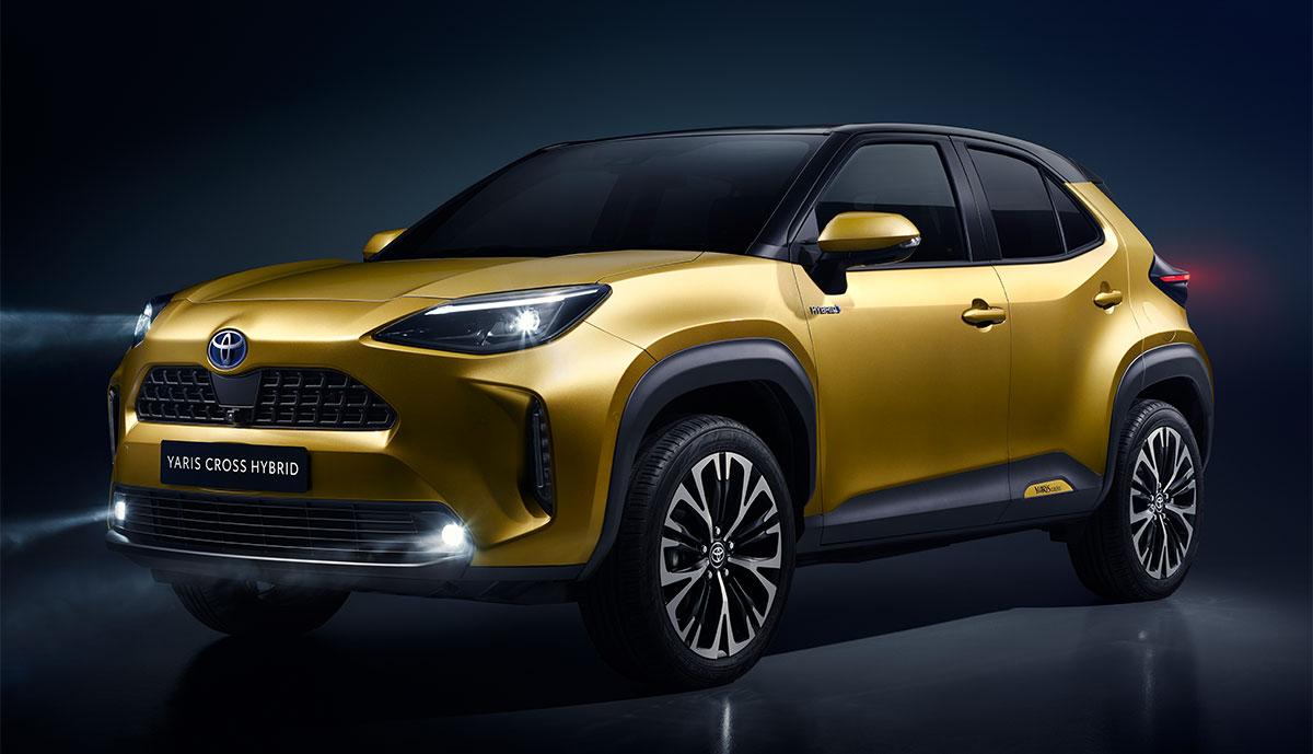 Toyota Yaris Cross Hybrid kommt 2021 (Bilder & Video ...