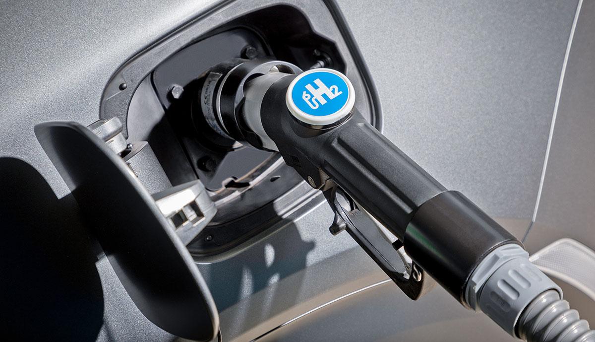 Hyundai-Nexo-Wasserstoff-Anschluss