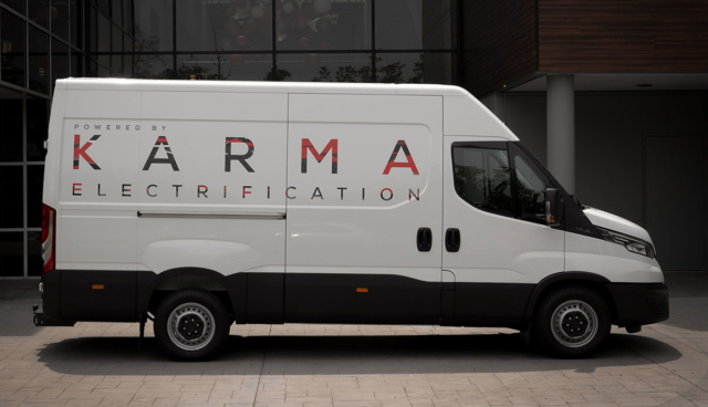 Karma-Automotive-E-Transporter