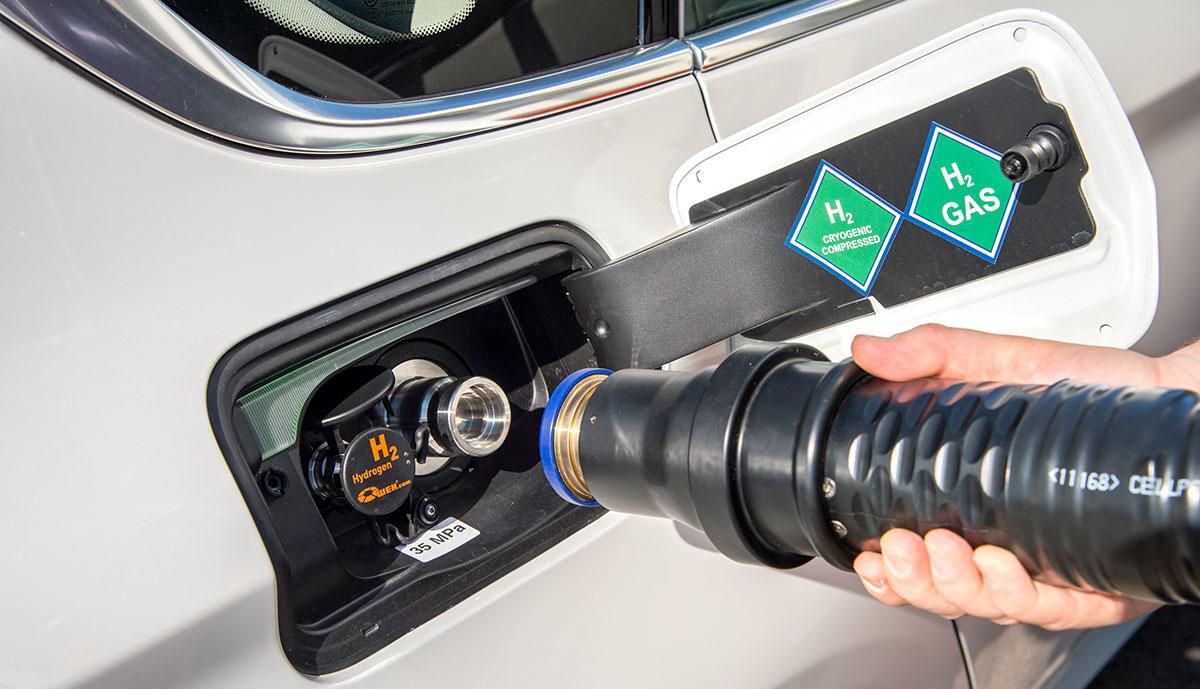 BMW-Wasserstoff-Tankstutzen