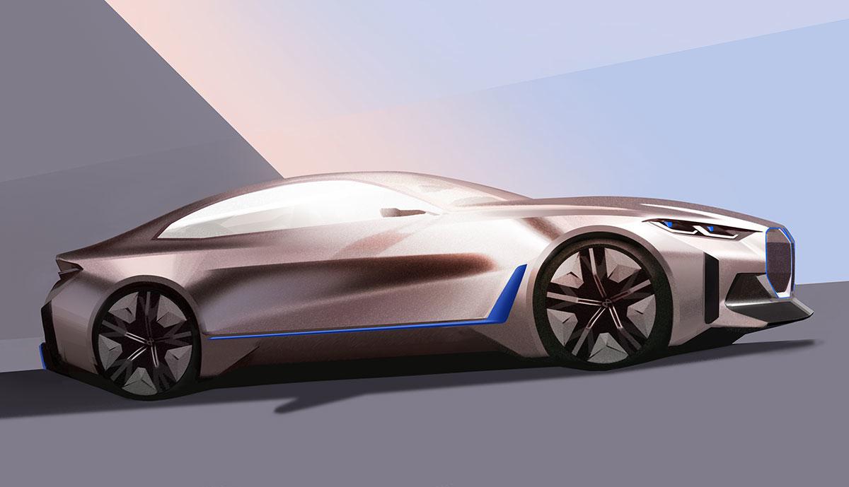 BMW-i4-Entwurf