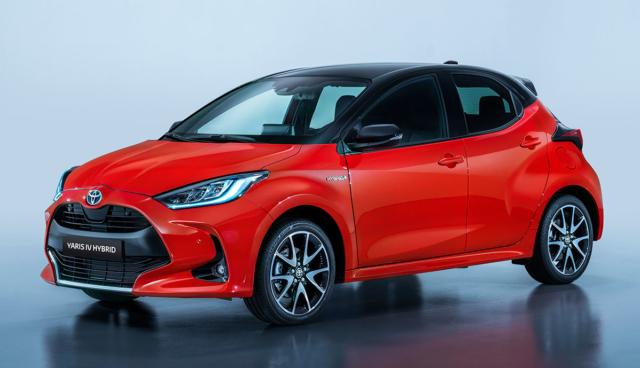 Toyota-Yaris-Hybrid-2020-rot