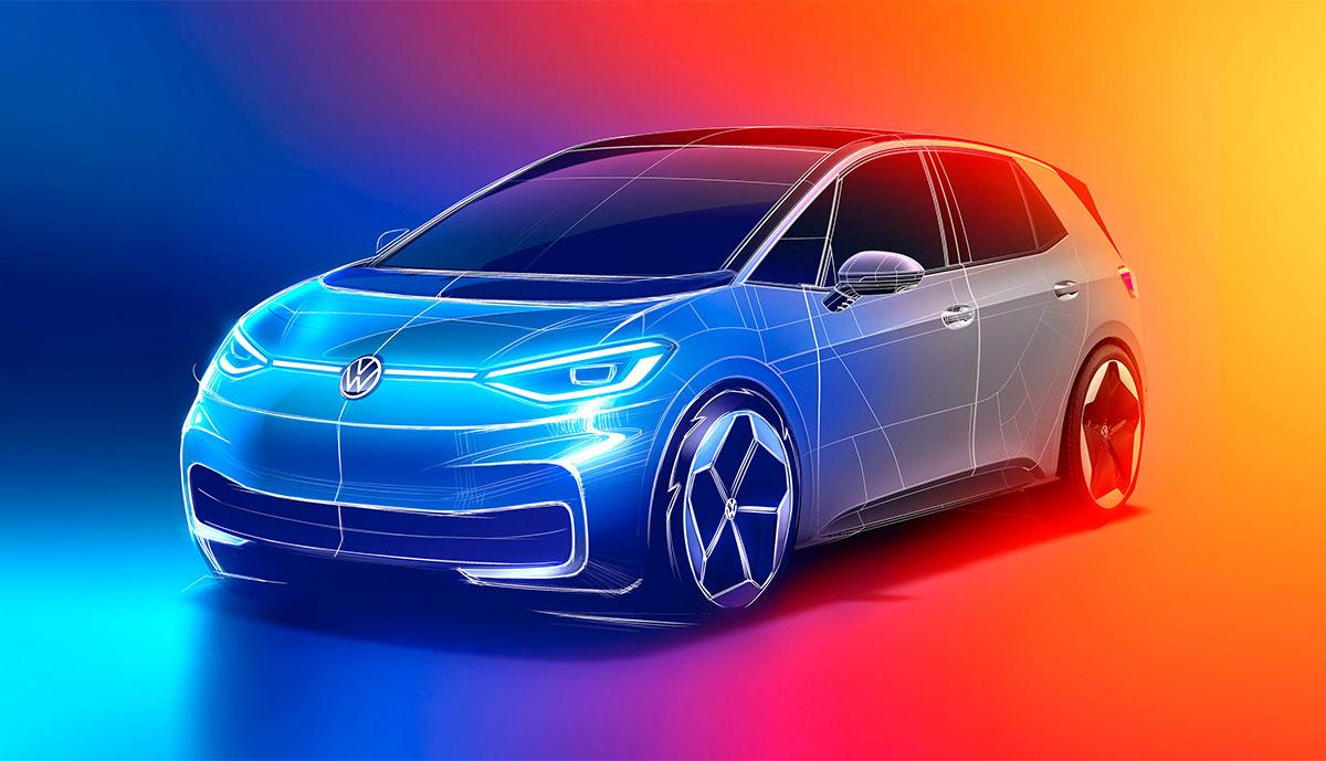 VW-ID3-Entwurf