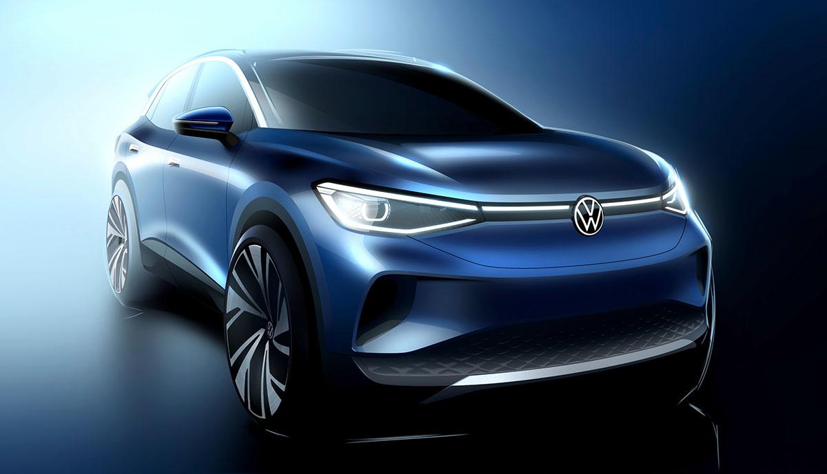 VW-iD4-Entwurf