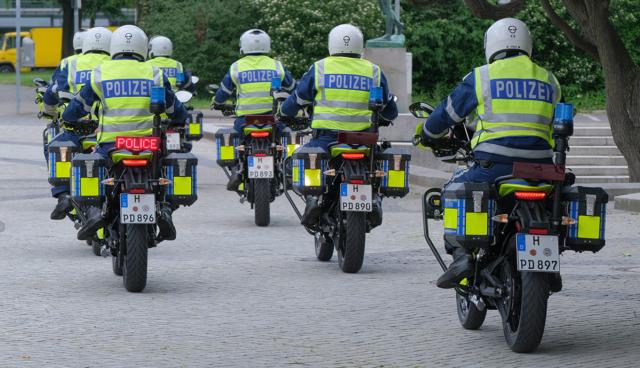 Zero-E-Motorrad-Polizei-Niedersachsen