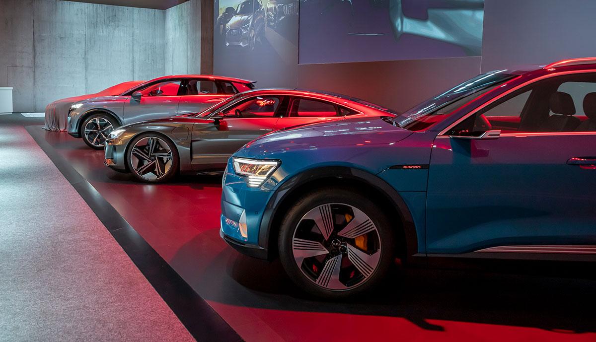 Audi-Elektroautos
