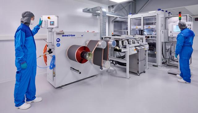 BMW-Batteriezell-Prototypenbau