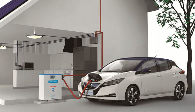 Nissan-V2G