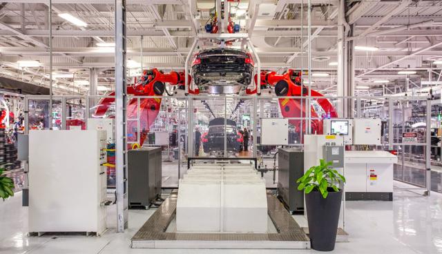 Tesla-Produktion-Fremont