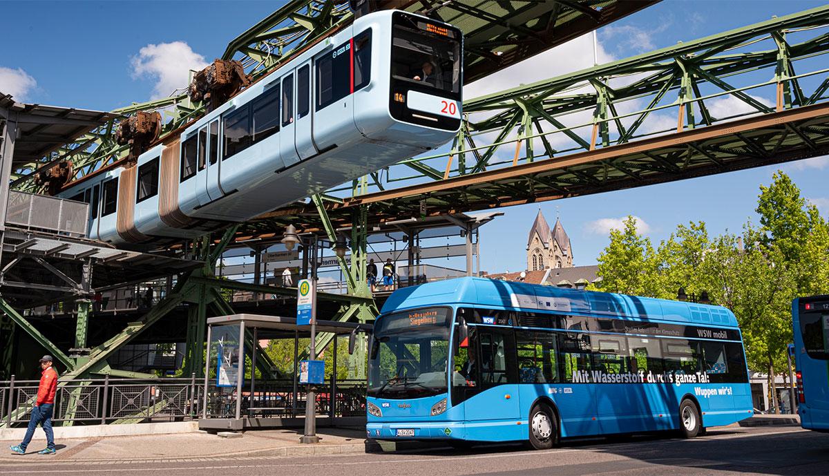 WSW-Wasserstoff-Bus