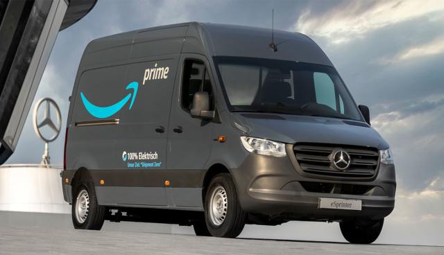 Mercedes-Elektro-Transporter-Amazon
