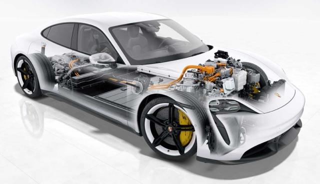 Porsche-Taycan-Technik