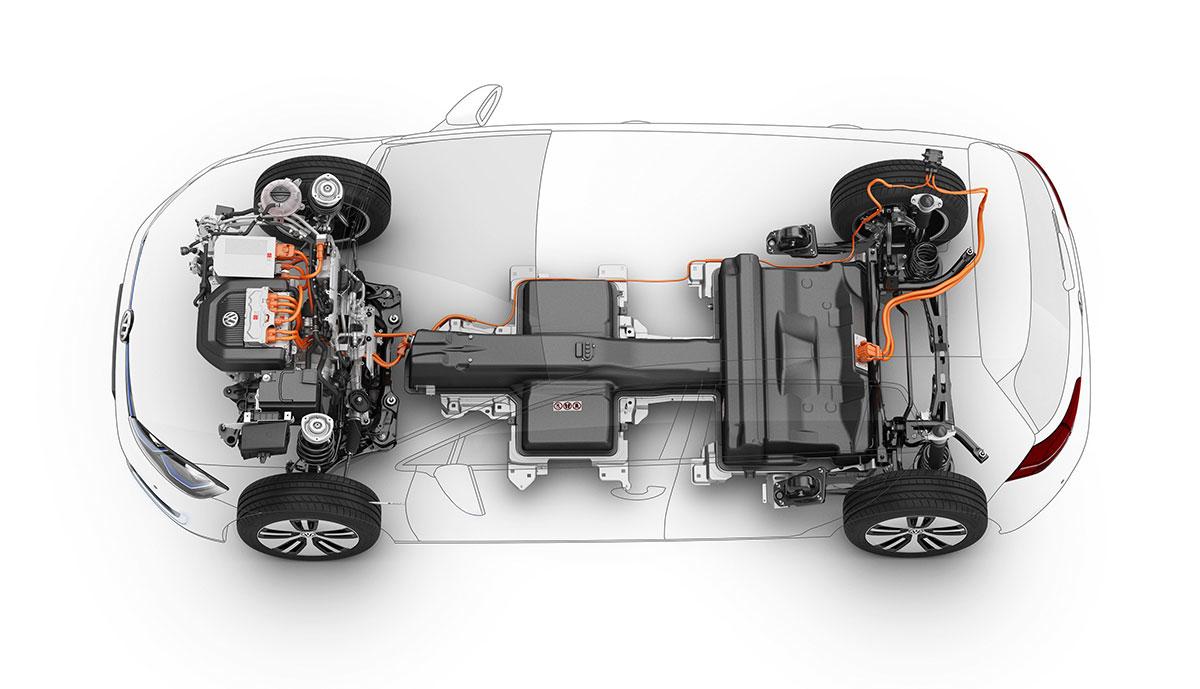 VW-e-Golf-Technik
