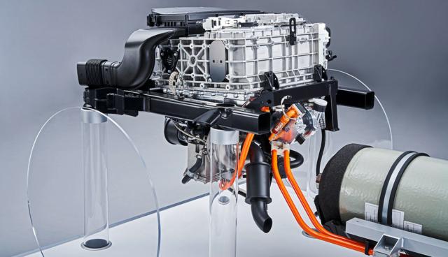 BMW-Wasserstoffantrieb