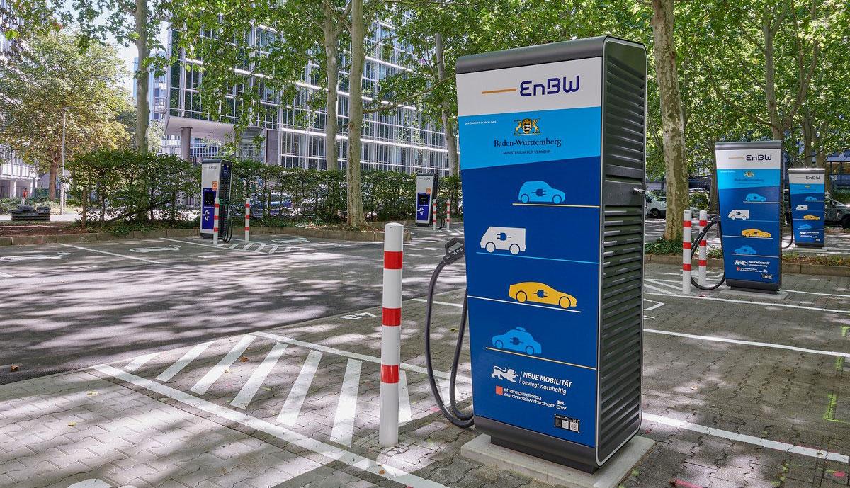 EnBW-Schnellladepark-Stuttgart