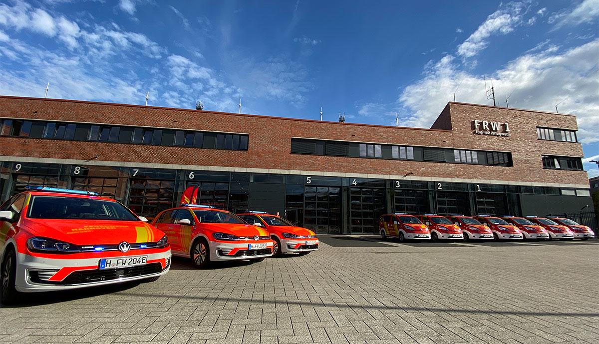 Feuerwehr-Hannover-Elektroautos