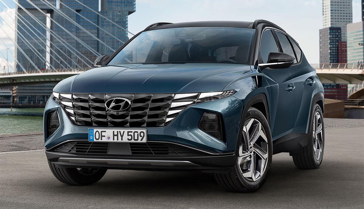 Neuer Hyundai Tucson auch als Hybrid & Plug-in-Hybrid ...