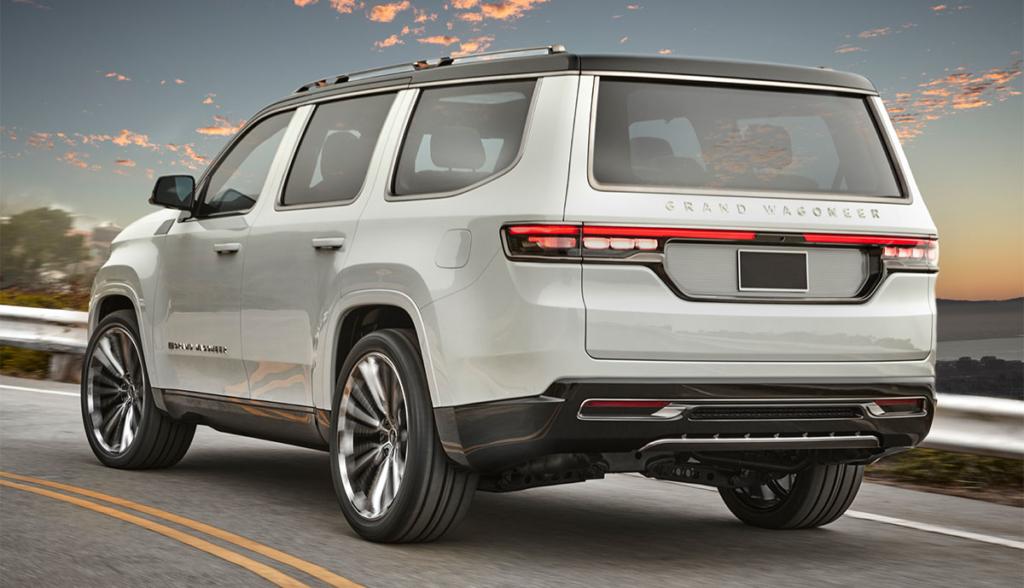 Jeep zeigt plug-in-hybrides Premium-SUV Grand Wagoneer ...