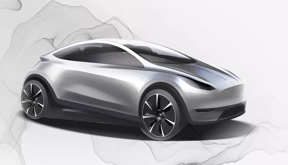 Tesla-Elektroauto-Entwurf-China