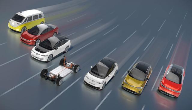 VW-ID-Elektroautos