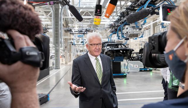 Winfried-Kretschmann-Daimler-Produktion