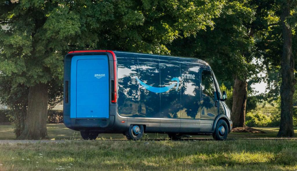 Amazon Elektro-Transporter Rivian-2020-5