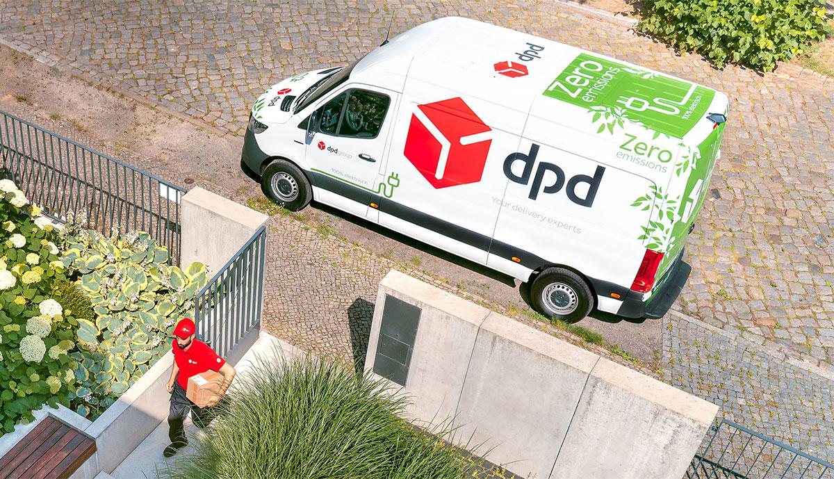 DPD-Emissionsarme-Paketzustellung