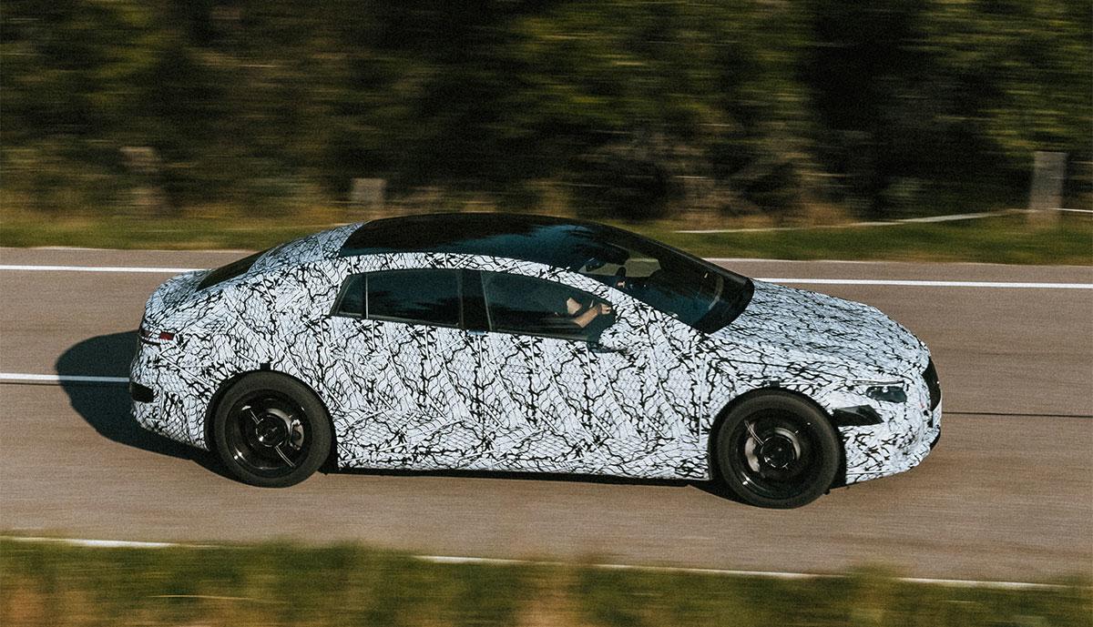 Mercedes-Elektroauto-Prototyp