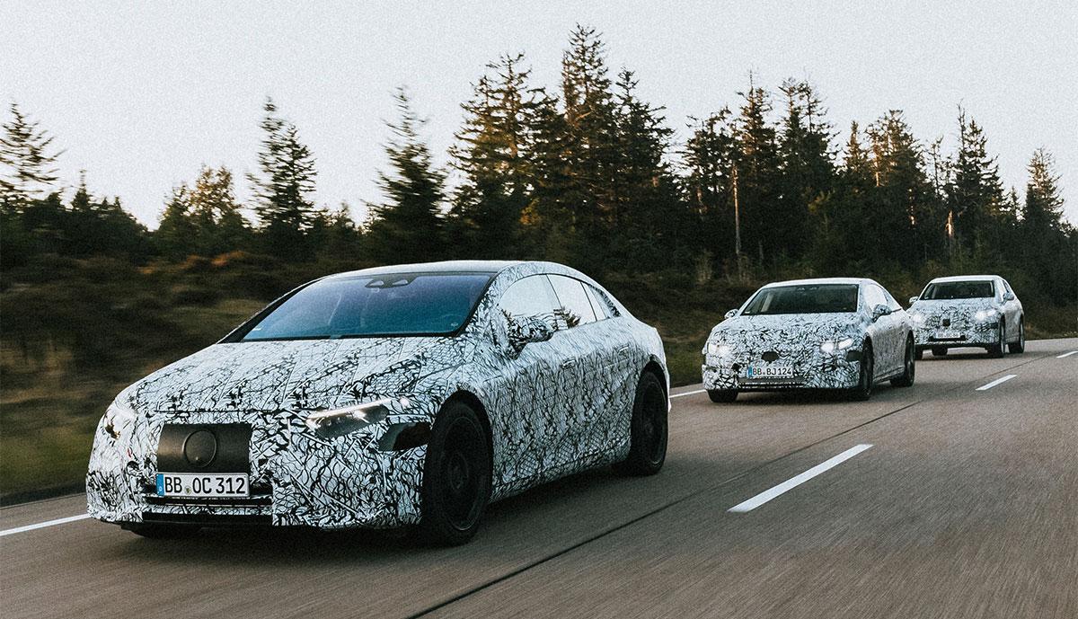 Mercedes-Elektroauto-Prototypen