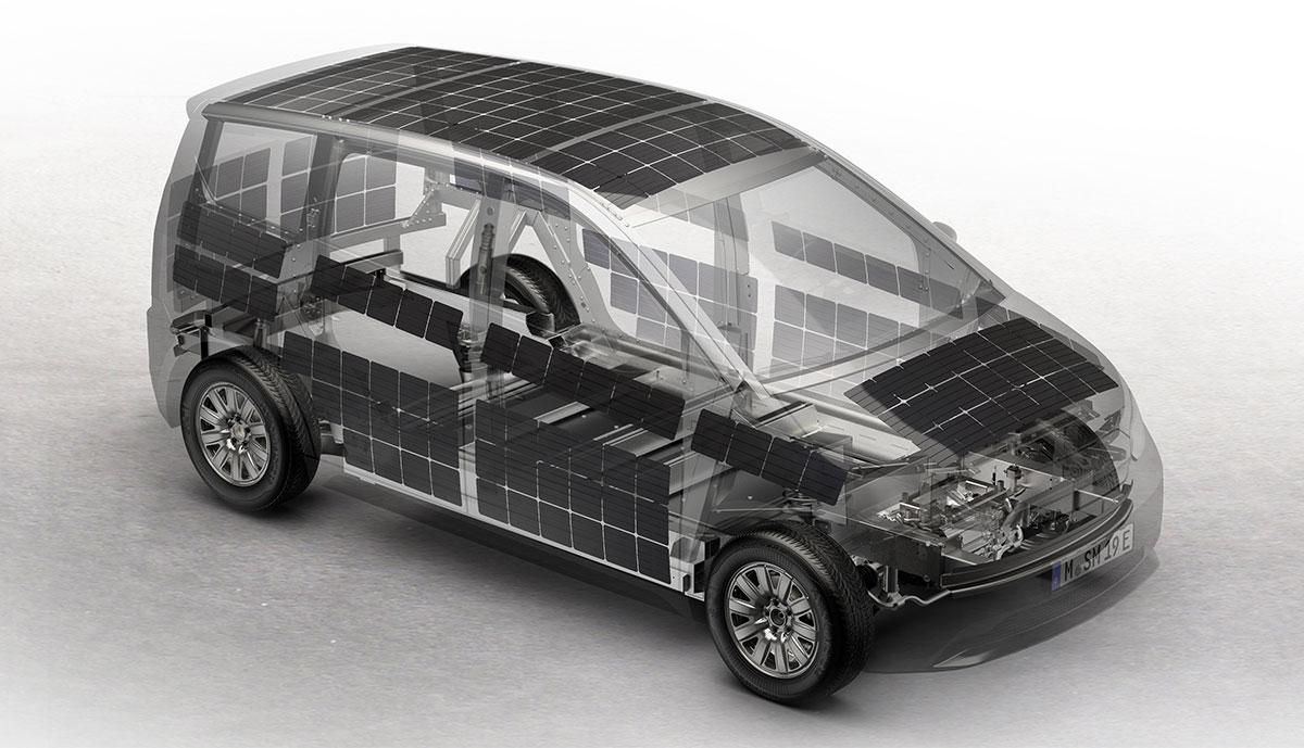 Sono-Sion-Solarzellen-Integration