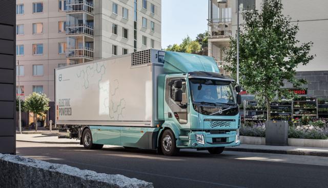 Volvo-FE-Elektro-Lkw