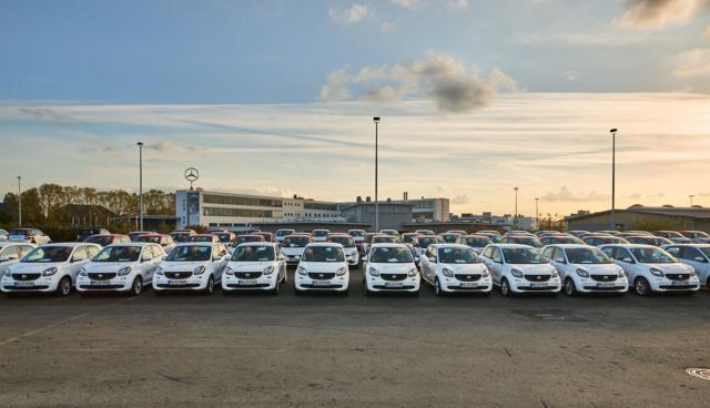 Caritas-Elektroauto-Flotte