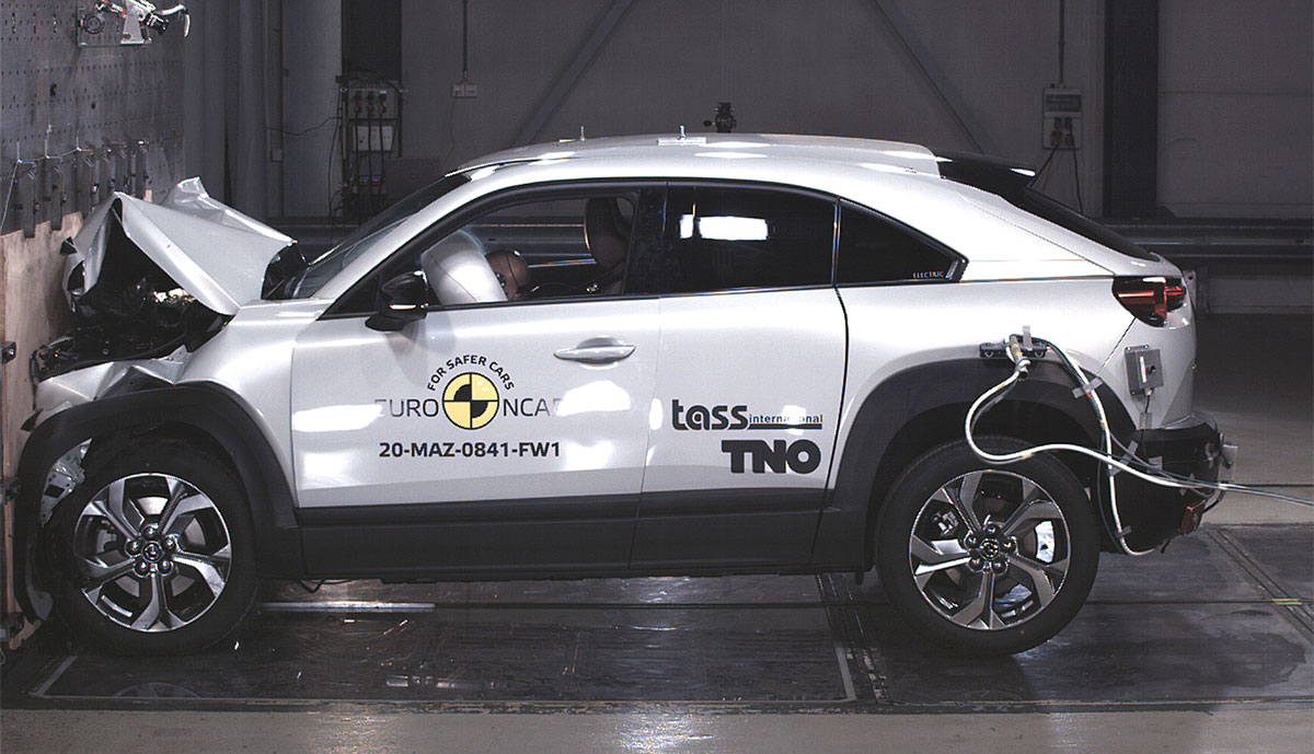 Mazda-MX-30-Crashtest-Euro-NCAP