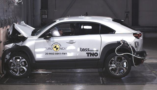 Mazda-MX-30-Crashtest-Euro-NCAP