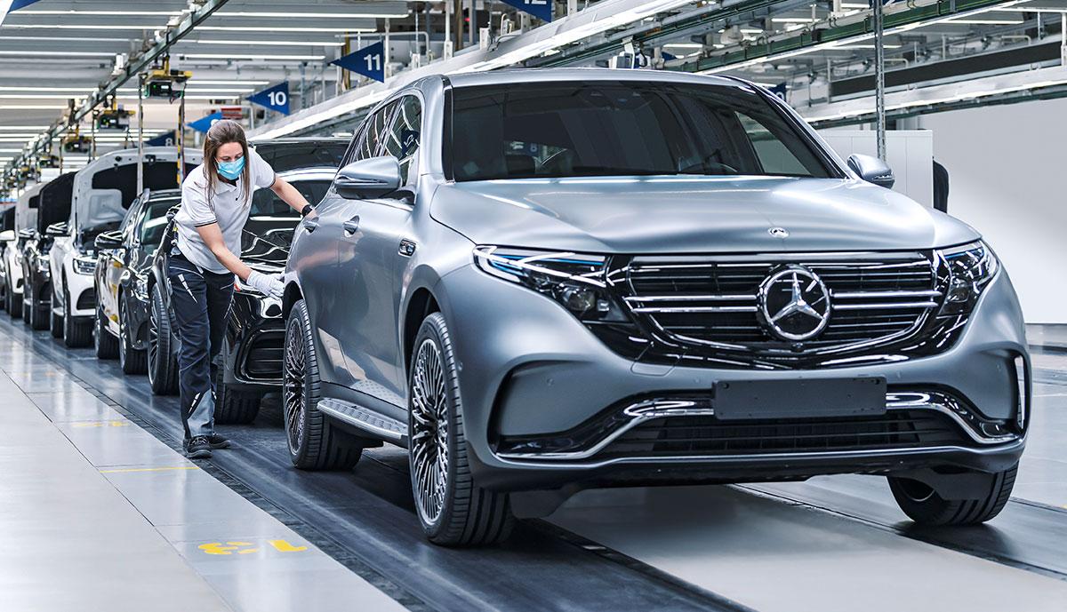 Mercedes Eqc Jetzt Ab Werk Mit 11 Kw Bordlader Ecomento De