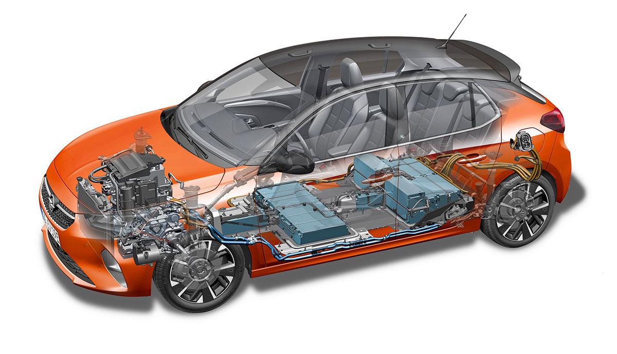 Opel-Corsa-e-Batterie