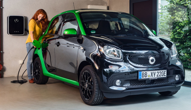 Smart-ForFour-Ladestation