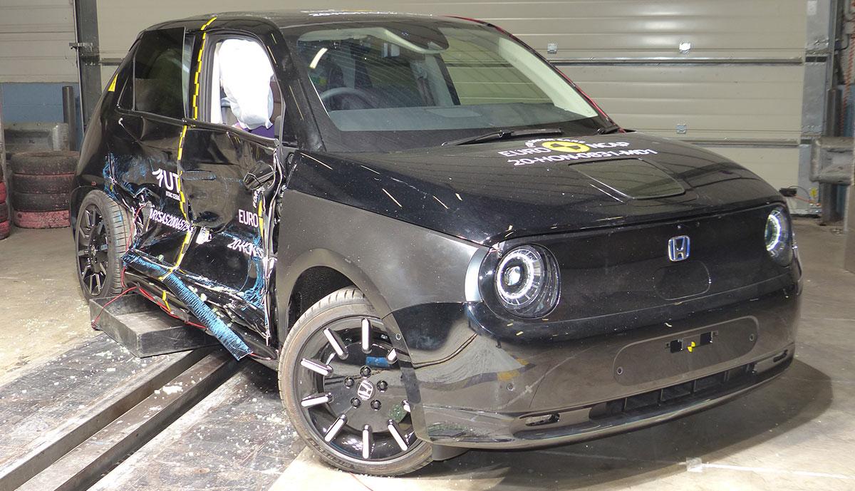 Honda-e-Euro-NCAP-Crashtest