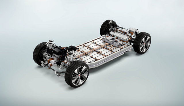 Jaguar-I-Pace-Antriebssystem