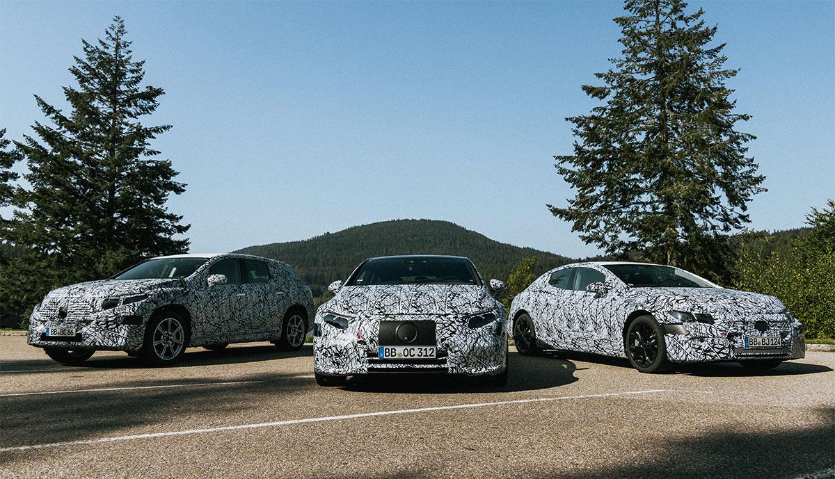 Mercedes-EQ-Prototypen