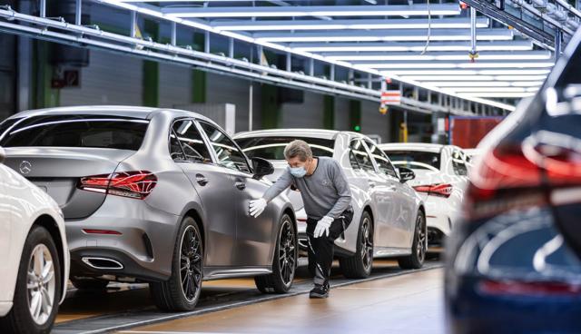 Mercedes-Produktion