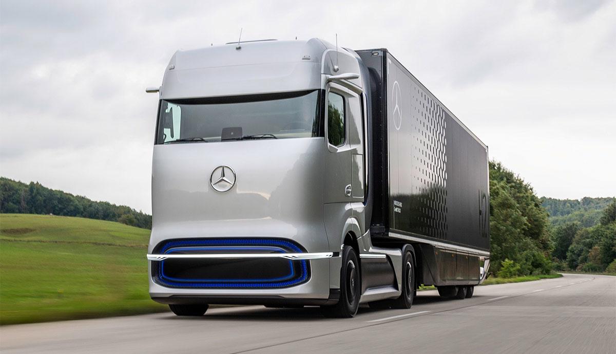 Mercedes-Wasserstoff-Lkw