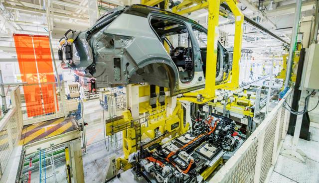 Volvo-Elektroauto-Produktion
