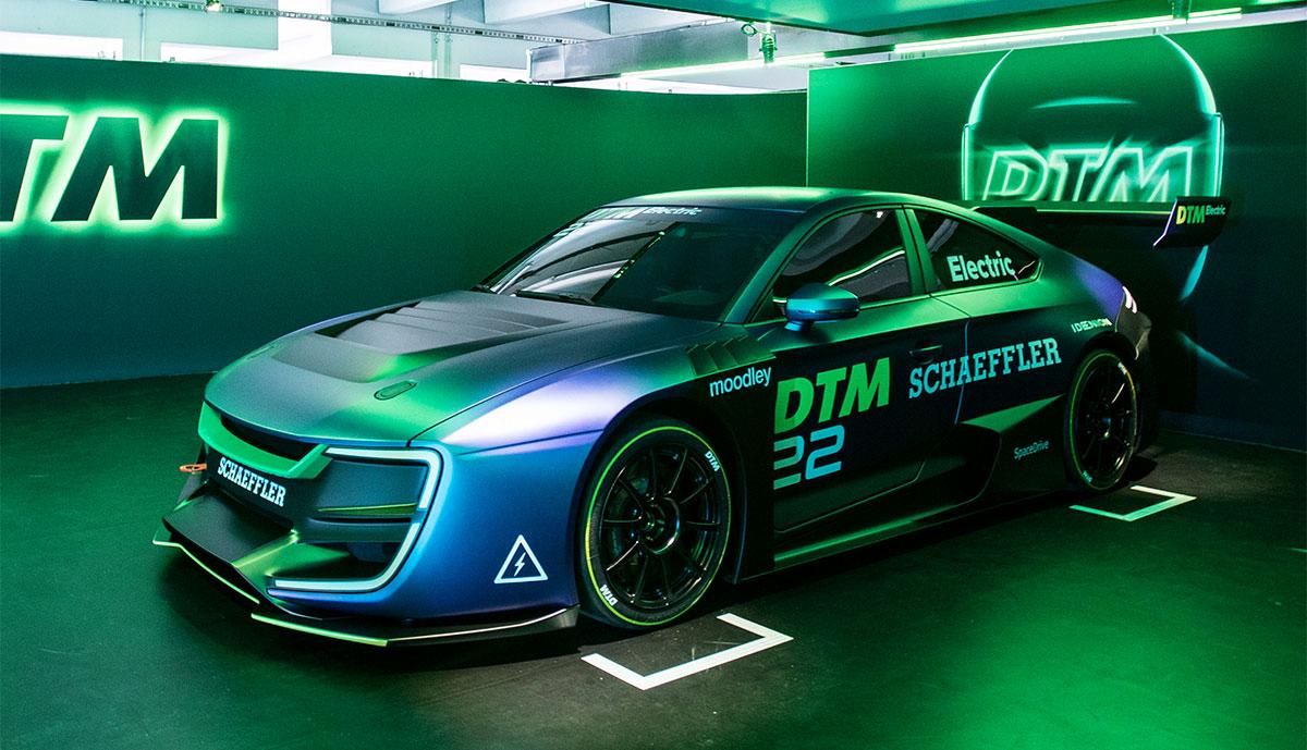 DTM-Electric-Rennwagen