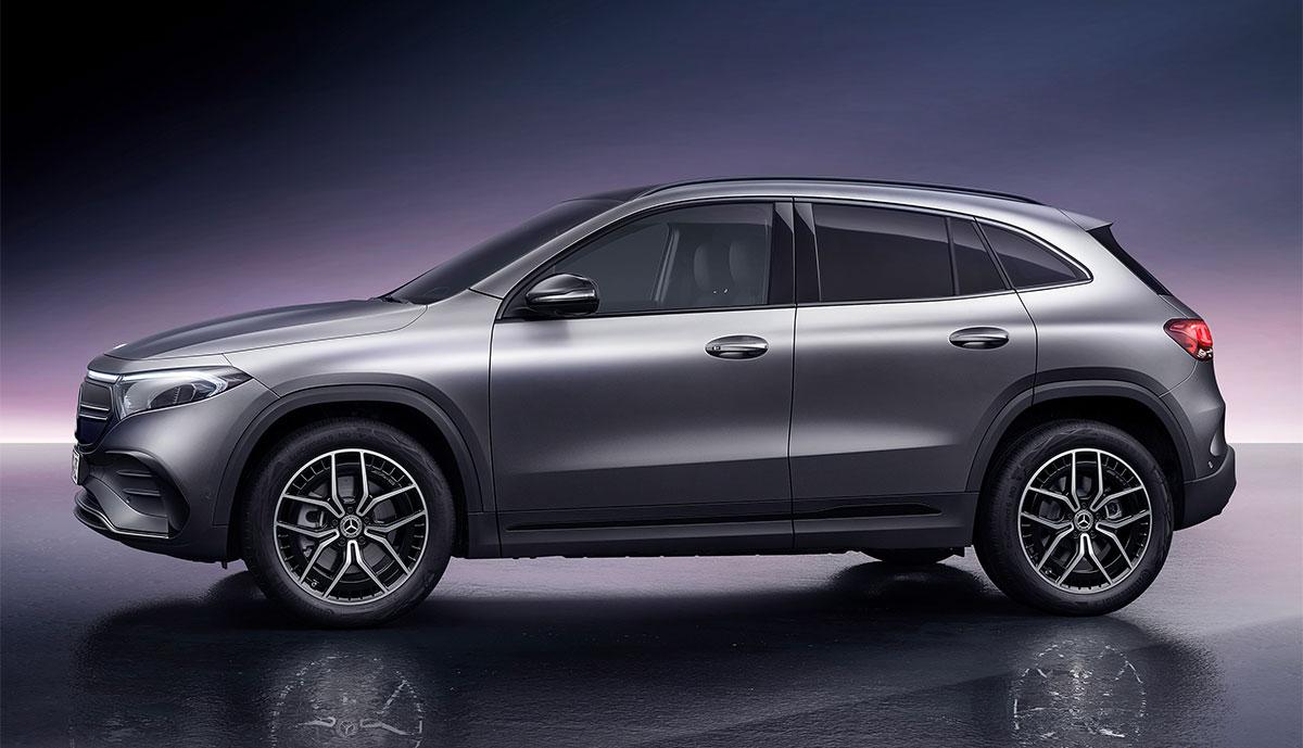 Mercedes-EQA-Seite