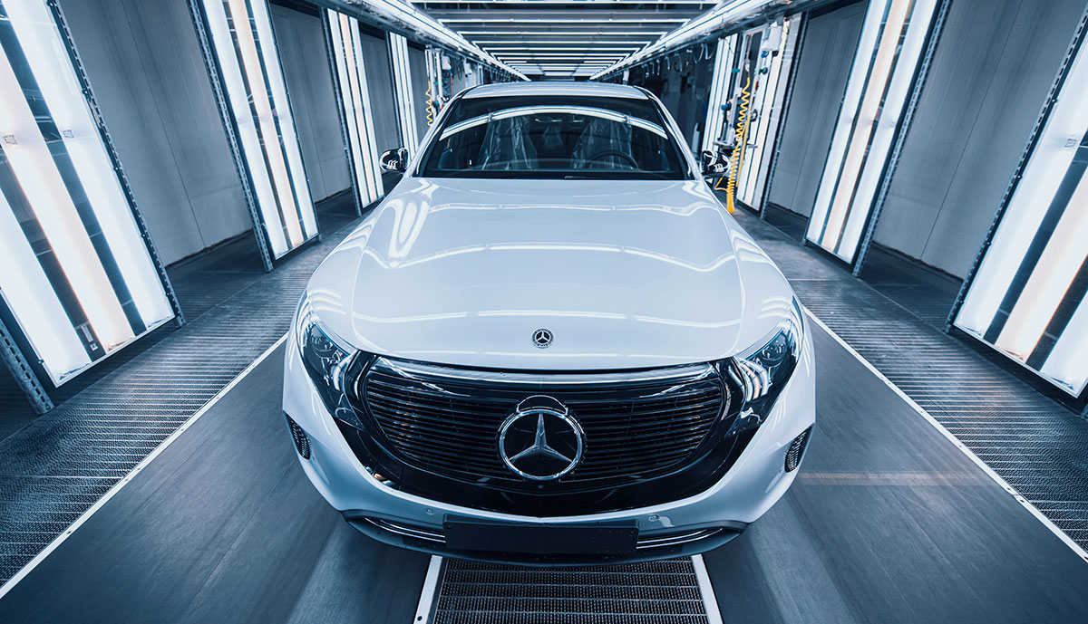 Mercedes-EQC-Produktion