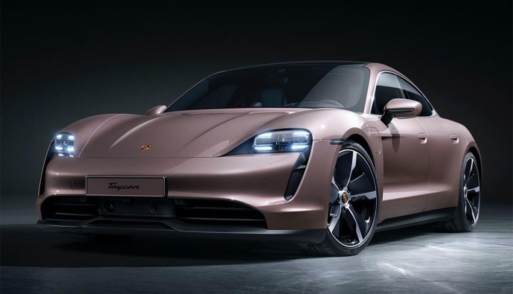 Porsche Taycan Reichweite